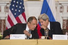 Syria, Ukraine top agenda items in Kerry-Lavrov phone call