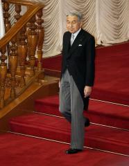 Japan Emperor Akihito celebrates birthday