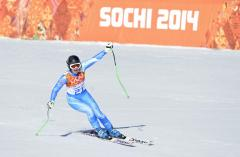 Two gold medals awarded in Olympic downhill