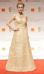 Gillian Anderson wows in black dress at London Indian Film Festival