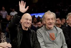 WATCH: Patrick Stewart and Ian McKellen play 'The Newlywed Game'
