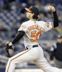 Orioles comes out over Tampa Bay