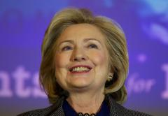 Clinton: Politically active women must 'grow skin like a rhinoceros'