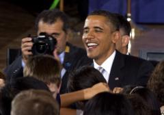 Meetings, gala speech on Obama's agenda