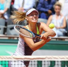 Sharapova, Azarenka make French Open semifinals