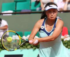Peng up to 23rd in women's tennis rankings