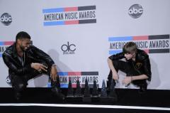 Bieber wins 4 AMA trophies