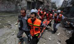Gaza officials: Families killed in conflict