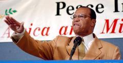 Farrakhan praises Gadhafi
