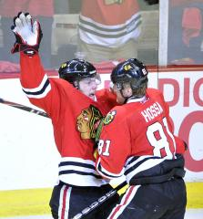 NHL: Chicago 6, Columbus 3