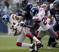 NFL: New York Giants 41, Seattle 7
