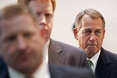 Boehner sets Sandy vote under pressure