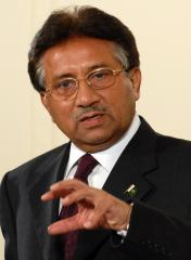 Khan's wife says Musharraf lied