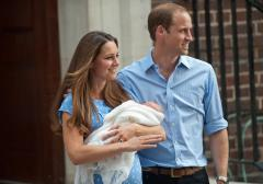 Prince William and Kate select seven godparents for George