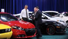Obama praises U.S. auto comeback
