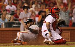 Giants edge St. Louis Cardinals 6-5