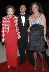 Nancy Reagan hospitalized after fall