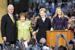 Hillary Clinton taking some R&R