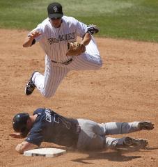 MLB: Atlanta 9, Colorado 6