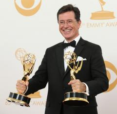 Stephen Colbert to succeed David Letterman, CBS announces