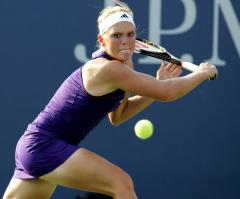 Top seed beaten at WTA event in Morocco