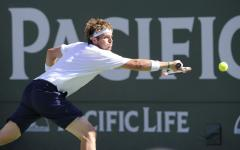 Fish advances in Los Angeles first round