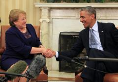 Bachelet outlines Chile's reform-filled future