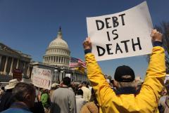 National debt equal to national economy