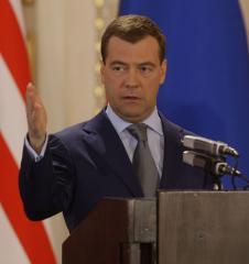 Medvedev: Russia, not Stalin, won war