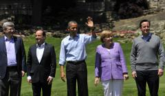 G8 leaders commit to 'growth and jobs'