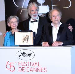 'Amour' takes Palme d'Or at Cannes