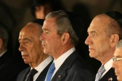 Olmert unsure of Bush's 1-year peace goal