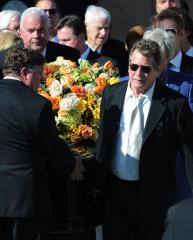 O'Neal, others attend Fawcett funeral