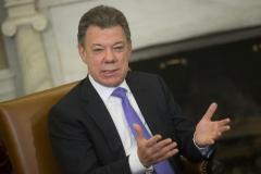 Colombia's Santos wins re-election