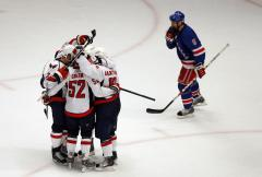 NHL: Washington 5, New York Rangers 3