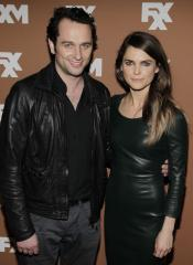 Keri Russell and Matthew Rhys fuel romance rumors with New York theater date