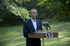 Obama provides update on military and humanitarian aid to Iraq