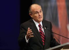 Giuliani had interest in electronic fence
