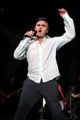 Singer Morrissey hospitalized in Michigan