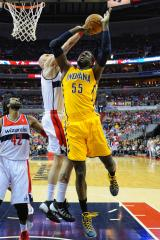 Indiana Pacers defeat Wizards 93-80