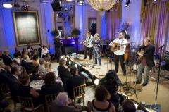 Stars come out for White House music event