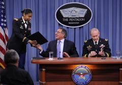 Military leaders applaud end of combat ban
