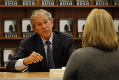George W. Bush library to mark a milestone