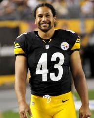 Polamalu is NFL's best-liked, fans say