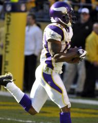 Vikings' Harvin out of hospital