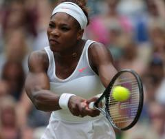 Serena Williams wins first-rounder in Sweden