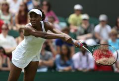 V. Williams beaten in Wimbledon 1st round
