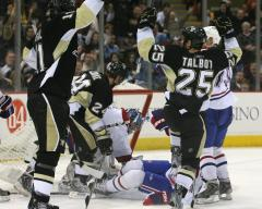 NHL: Pittsburgh 5, Montreal 4