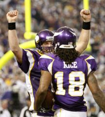 Vikings' Rice flew with 'scam' tickets