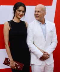 Bruce Willis says wife doesn't mind him kissing women for work